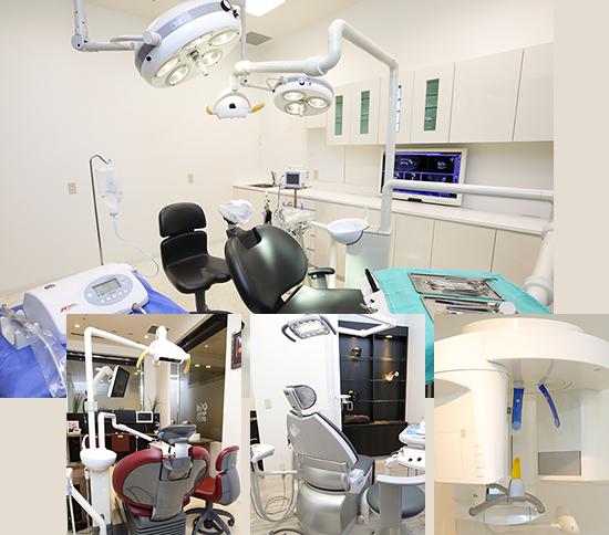 大学病院クラスの医療設備による最先端医療
