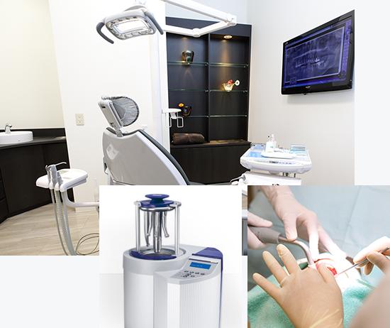 徹底した衛生管理で安心できる診療を提供